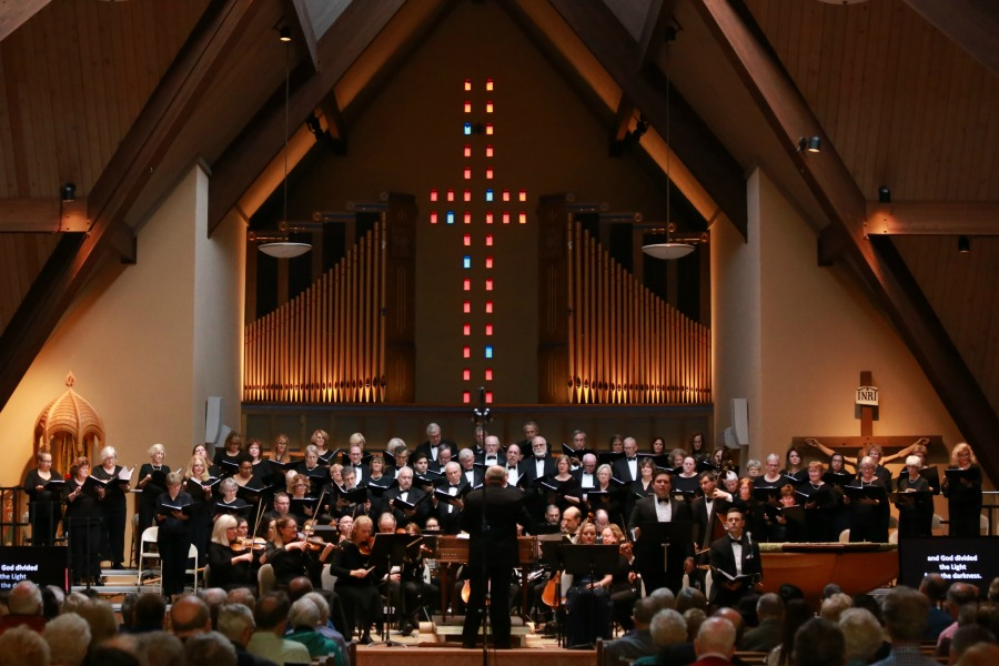 "Burnt Hills Oratorio Society performing Haydn ""The Creation"" Church of the Immaculate Conception, Glenville NY 